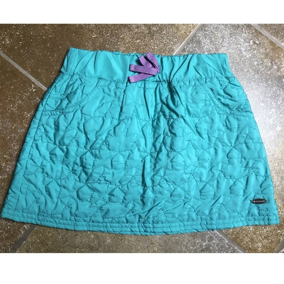American Girl Other - American Girl Star Quilt Skirt Teal Size 7